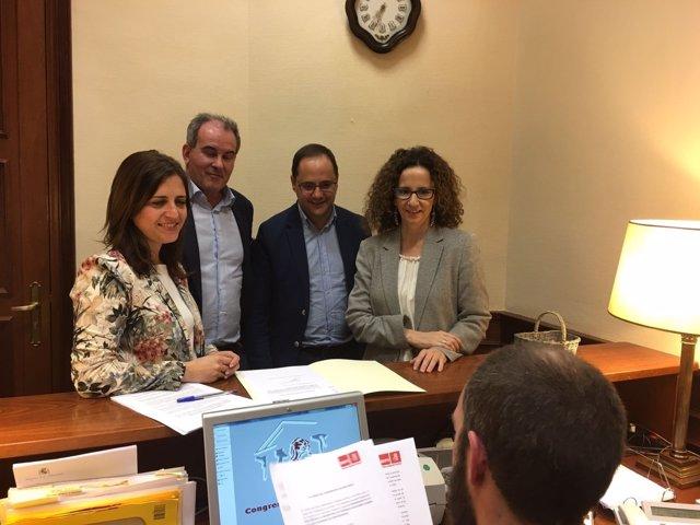 Registro del PSOE sobre centrales nucleares