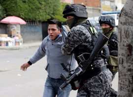 Un total de 148 cocaleros detenidos en enfrentamientos con la Policía en La Paz