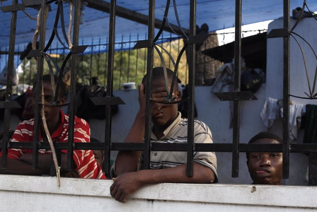 Prisión en Puerto Príncipe, Haití