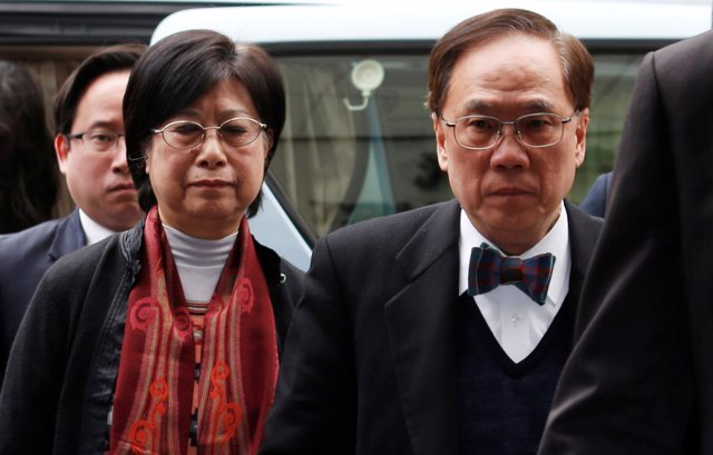 Exlíder de Hong Kong  Donald Tsang