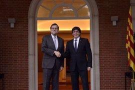 Rajoy y Puigdemont se vieron en Moncloa el pasado 11 de enero