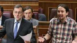 """Iglesias echa en cara a Rajoy los casos de corrupción del PP y el presidente le pide """"no magnificar"""""""