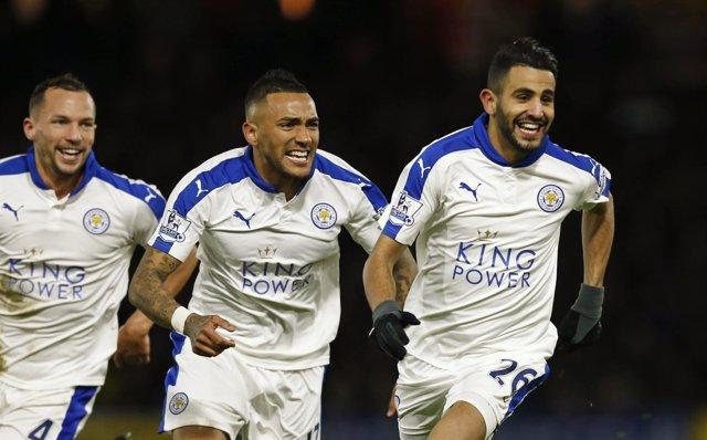 Riyad Mahrez lidera el triunfo del Leicester