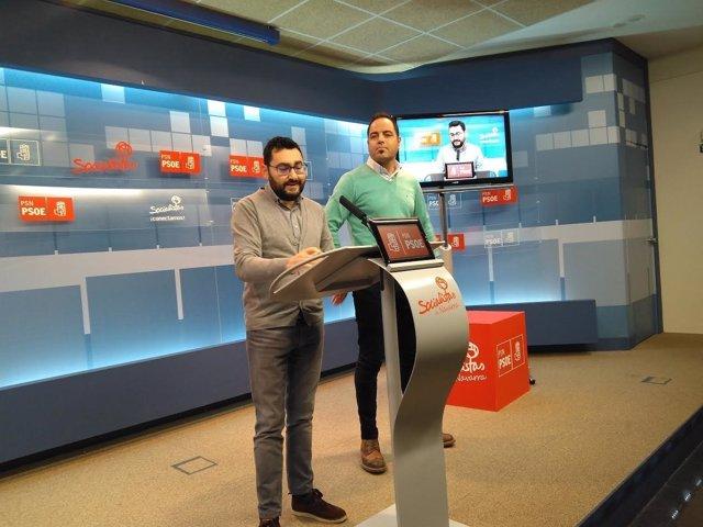Jesús Mari Rodríguez y Ramón Alzórriz, del PSN