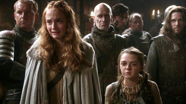 Sansa y Arya Stark