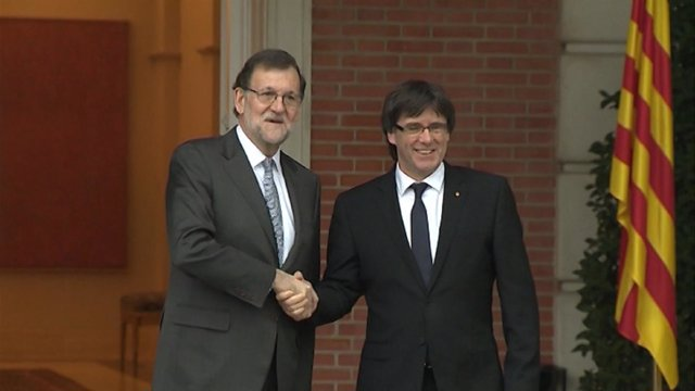 Rajoy no niega su reunión con Puigdemont