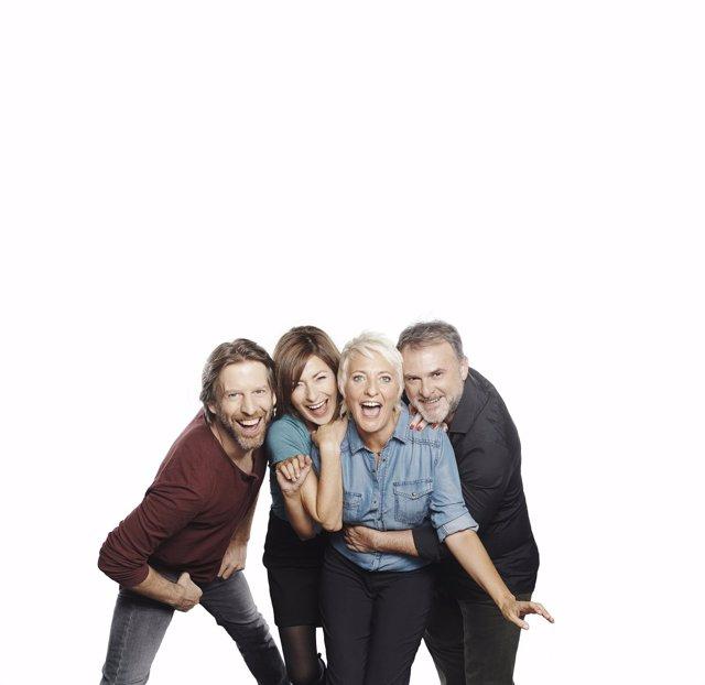 Los actores de 'Los vecinos de arriba'