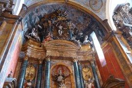Restaurado el retablo y pinturas murales de la iglesia de Sotillo de la Ribera (Burgos)