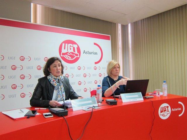 Escandón (izquierda) y Martínez, durante la rueda de prensa.