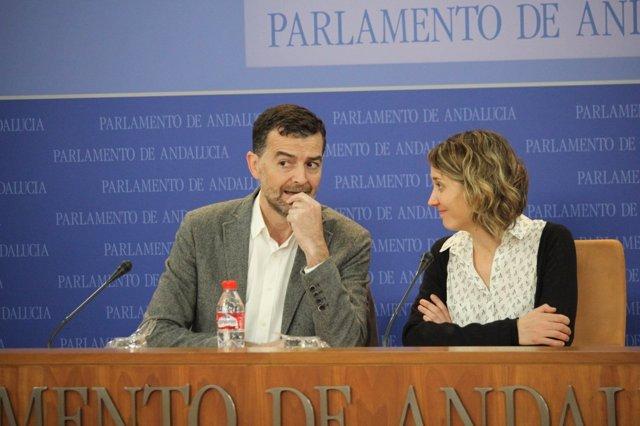 Antonio Maíllo y Marina Albiol