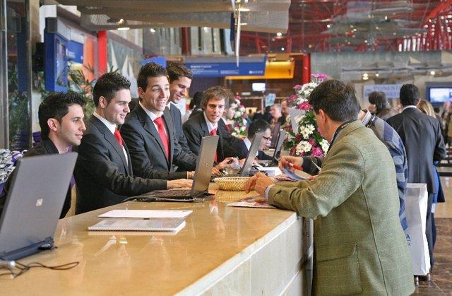 Asistentes en el Palacio de Ferias y Congresos