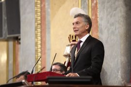 """Macri llama a España a participar en el """"cambio histórico"""" en Argentina"""