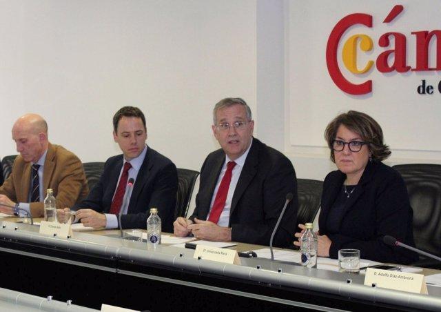 Reunión de la Comisión de Energía de la Cámara de España
