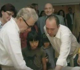 Woody Allen y Natalio Grueso