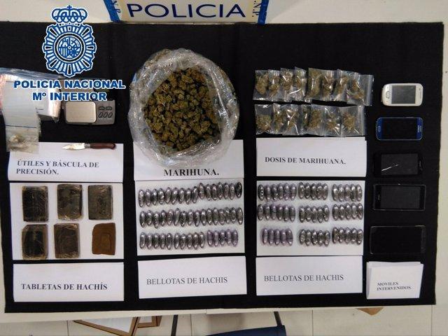 """Rtdo. Nota De Prensa """"La Policía Nacional Detiene A Una Pareja Por La Venta De E"""