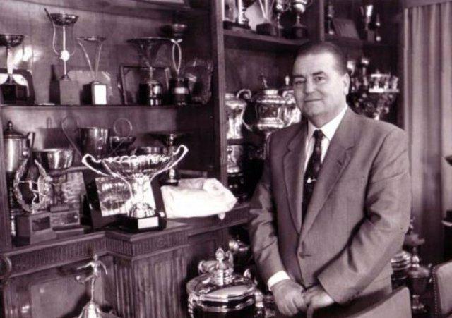 José Aragón López, expresidente del Granada
