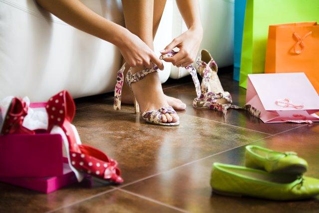 El zapato de tacón estilliza