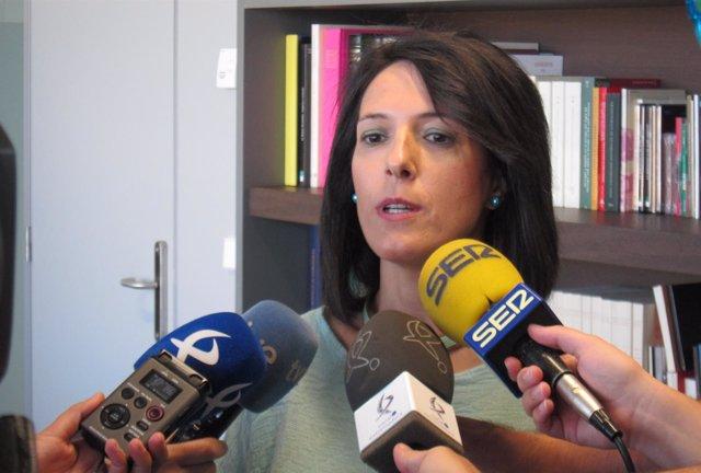 Consejera de Educación y Empleo, Esther Gutiérrez Morán