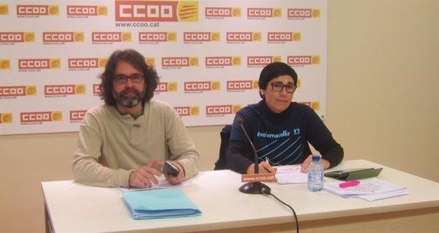 M.Pulido y D.Vique, CC.OO