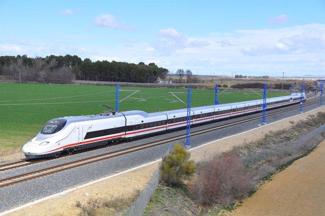 Tren AVE de Talgo Avril