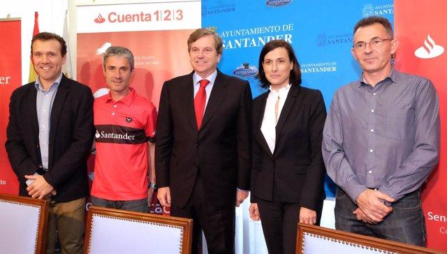 Presentación de la VI Media Maratón de Santander