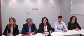 La industrialización de la región y la recuperación de servicios públicos, líneas principales de enmiendas PSOE
