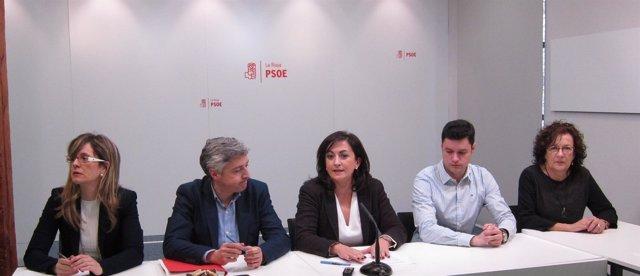 Presentación enmiendas parciales del PSOE