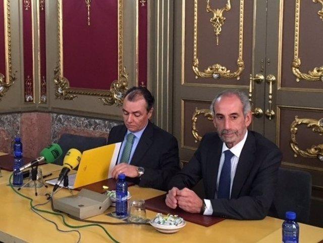 Navarro en rueda de prensa