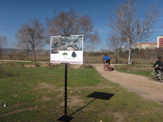 Inicio del Camino de Santiago desde Logroño a La Grajera