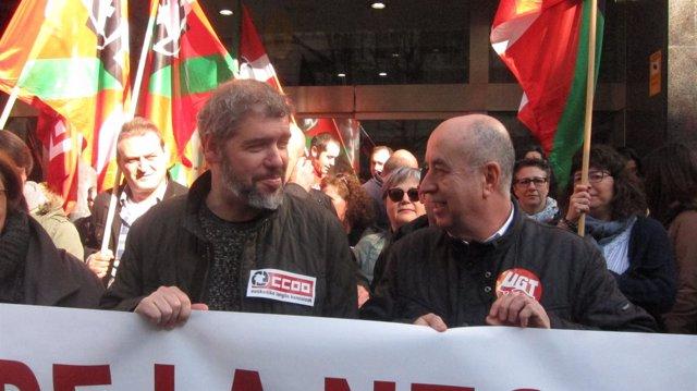 Unai Sordo y Raúl Arza