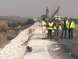 La Junta destinará este año 15,9 millones para la conservación de la red autonómica de carretera en la provincia de Jaén