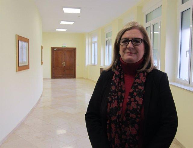 La subdelegada del Gobierno en Jaén, Francisca Molina.
