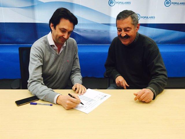 Vicente Betoret y Vicente Ferrer apoyan la candidatura de Isabel Bonig