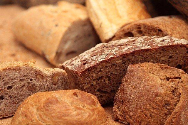 Pan, Gluten, Comida
