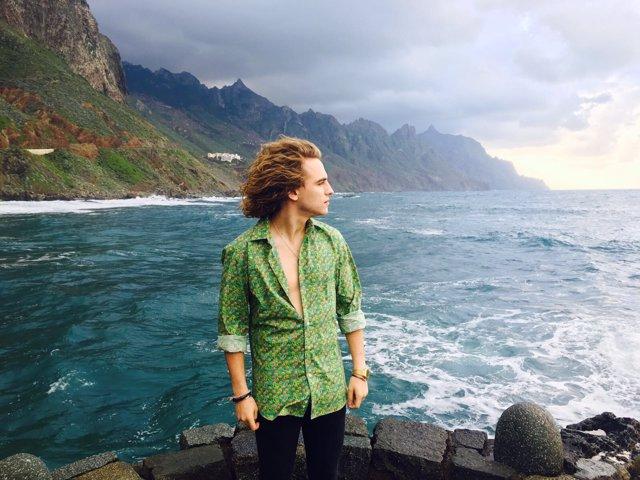 Manel Navarro graba su videoclip en Tenerife