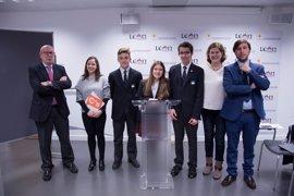 León acoge a cien estudiantes en la XVII Sesión Nacional del Modelo del Parlamento Europeo
