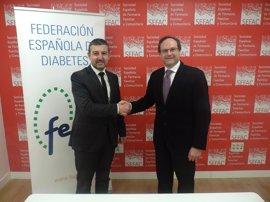 SEFAC firma un acuerdo con FEDE para mejorar la calidad de vida de las personas con diabetes