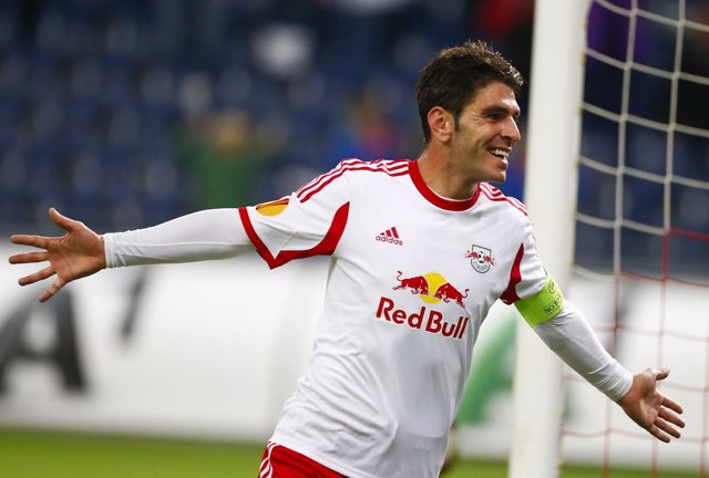 Jonathan Soriano, jugador del Red Bull Salzburg