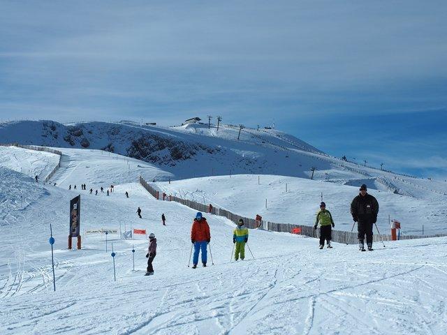 Esquí, invierno, La Molina, Masella, Alp 2500