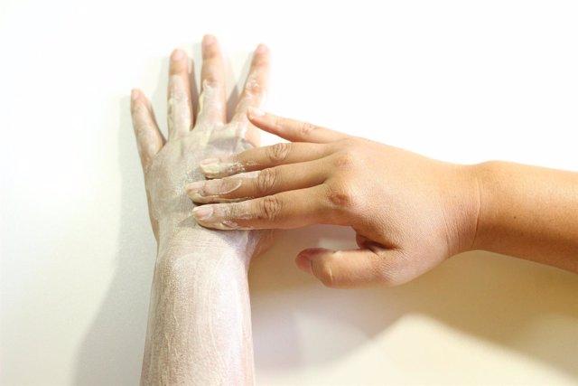 Cremas, manos, piel