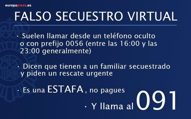 Falso Secuestro Virtual