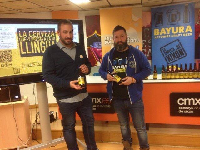 Presentación de la nueva cerveza de Bayura.