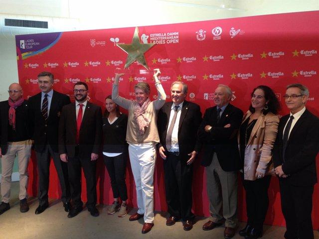 Presentación del Estrella Damm Mediterranean Ladies Open