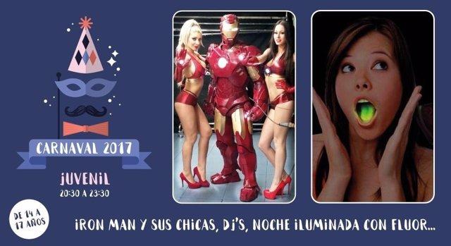 Cartel del carnaval de Hoyo de Manzanares