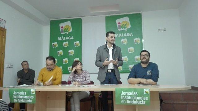 Maíllo en un encuentro en Málaga