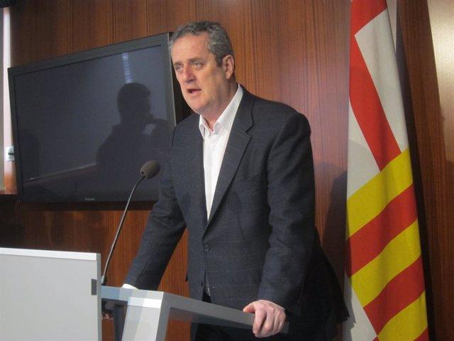 El portavoz de CiU en Barcelona Joaquim Forn