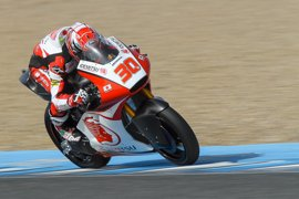 Nakagami y Bulega lideran los entrenamientos de Moto2 y Moto3 en Jerez