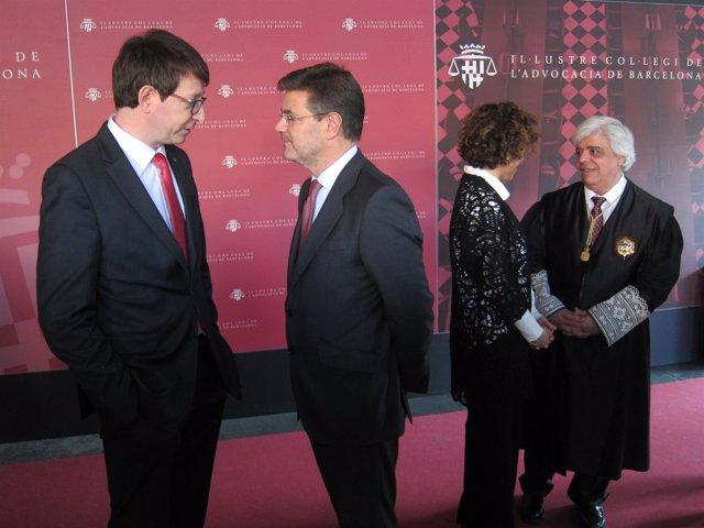 Carles Mundó, Rafael Catalá, Dolors Montserrat, Oriol Rusca