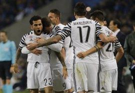 El banquillo de la Juventus se impone a un Oporto con diez