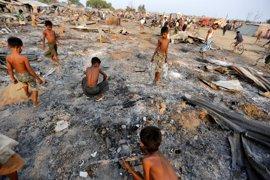 El Gobierno de Birmania anuncia la llegada de ayuda humanitaria al estado de Rajine